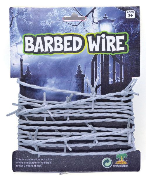 Barbed Wire Decoration Halloween Trick Or Treat Party Decoration